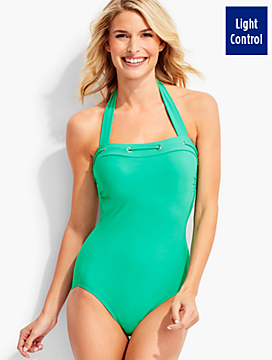 Halter One-Piece Swimsuit-Miraclesuit®