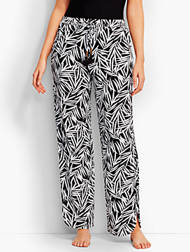 Fern Leaves Beach Pant