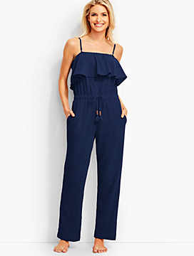 Flounced Jumpsuit