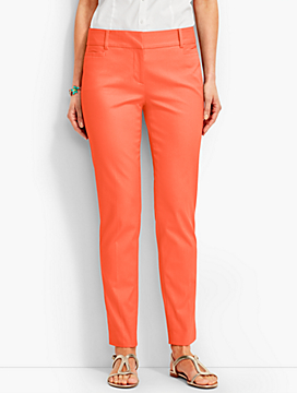 Talbots Hampshire Ankle Pant-Cotton Pique