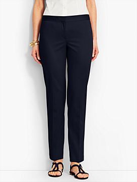 Talbots Hampshire Ankle Pant-Sateen