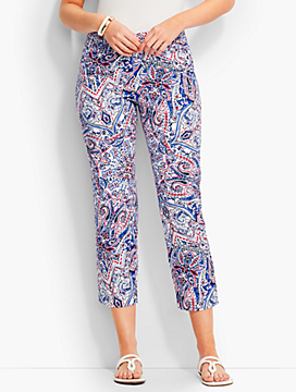 The Perfect Crop - Curvy/Paisley Scrolls