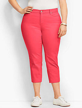 The Flawless Five-Pocket Colored Crop