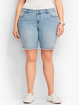 Raw Edge Boyfriend Short