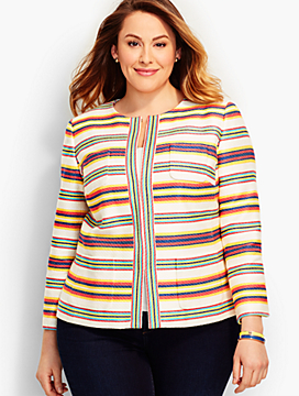 Calais Stripe Jacket