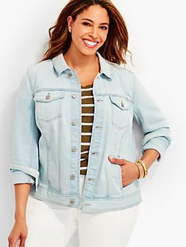 The Classic Denim Jacket - Malibu Wash