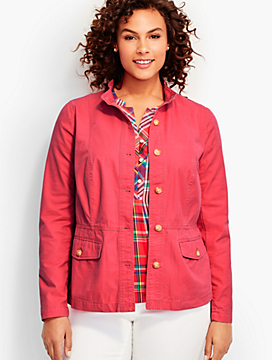 Womans Cotton Twill Jacket