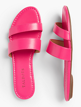 Sadie Slides-Bright Colors