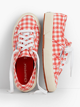 Superga® Sneakers-Gingham
