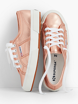 Superga® Sneakers-Metallic