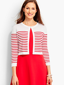 Breton Stripes Shrug