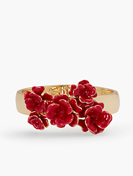 Flamenco Flower Bangle