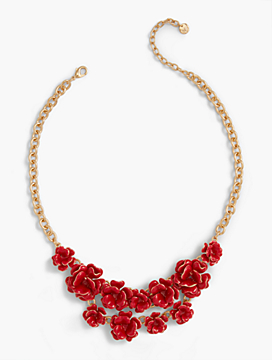 Flamenco Flower Necklace
