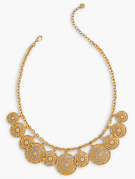 Filigree-Drop Necklace