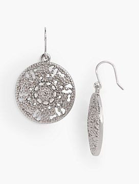 Filigree-Drop Earrings