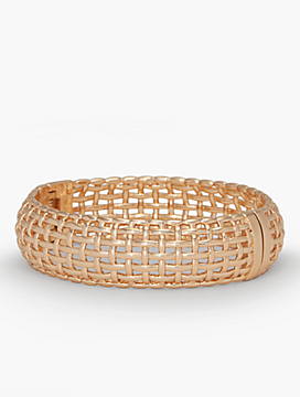 Americana Basketweave Bangle