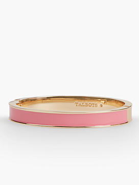 Solid Enamel Hinge Bangle
