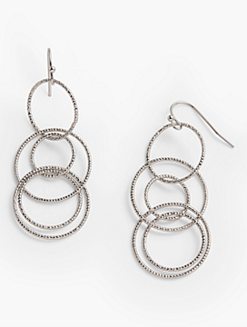 Delicate Multi-Link Drop Earrings