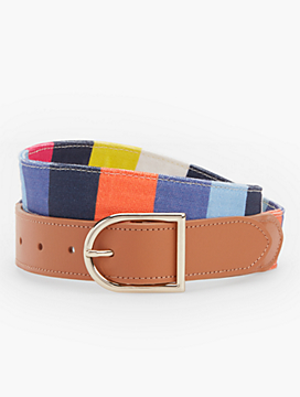Sunburst Stripe Belt