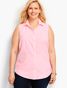The Perfect Sleeveless Shirt-End-on-End