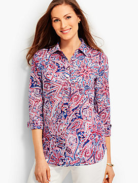 The Classic Casual Shirt - Paisley Scrolls