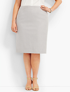 Summer Cotton Pencil Skirt