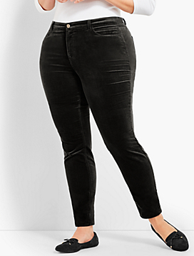 Velveteen Jegging - Curvy Fit