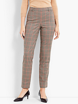 Talbots Chatham Slim Ankle - Plaid