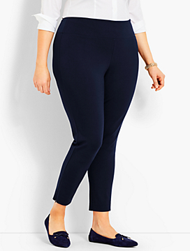 Body-Sculpting Ponte Legging