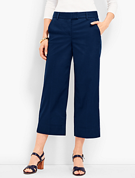 Soft-Brushed Wide-Leg Deck Pant