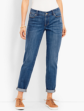 Denim Boyfriend Ankle - Carson Wash