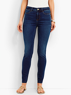 The Flawless Five-Pocket Jegging - Saratoga Wash