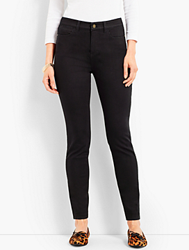 Comfort Stretch Denim Jeggings - Black