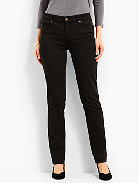 Denim Straight Leg-Black