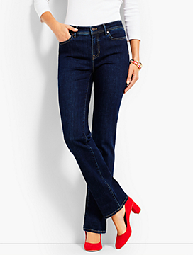 Luxe Denim Bootcut Full-Length-Benning Wash