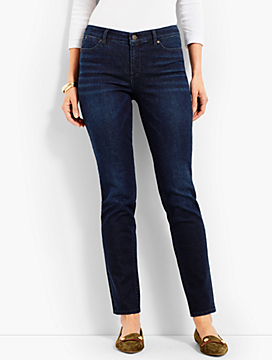 Denim Slim Ankle-Empire Blue Wash