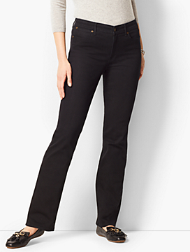 High Rise Barely Boot Jeans- Black