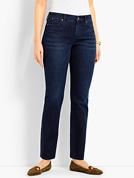 Denim Slim Ankle-Curvy Fit/Empire Blue Wash
