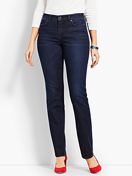 Denim Straight Leg-Curvy Fit/Empire Blue