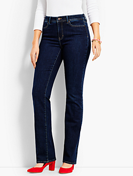 Denim Bootcut Full-Length-Curvy Fit/Benning Wash