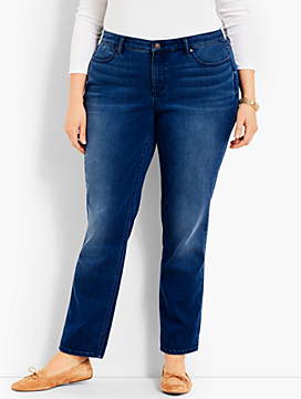 Flawless Five-Pocket Sculpt Denim Ankle- Loma Wash
