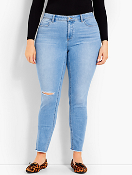 Jegging Ankle-Knee Cut