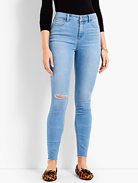 Jegging Ankle-Knee Cut-Iveta Wash