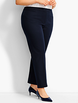 Woman Exclusive Talbots Hampshire Bi-Stretch Ankle Pant - Curvy