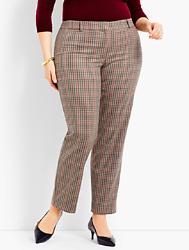 Womans Exclusive Talbots Hampshire Ankle - Plaid