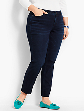 Womans Exclusive Denim Slim Ankle
