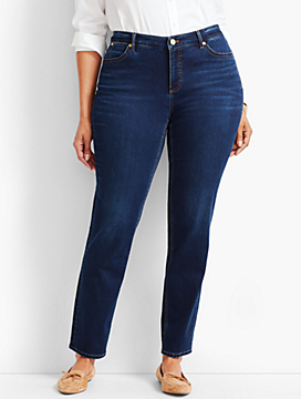 Womans Exclusive Luxe Stretch Denim Slim Ankle - Saratoga Wash