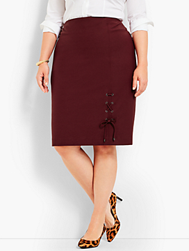 Fashion Lace-Up Skirt