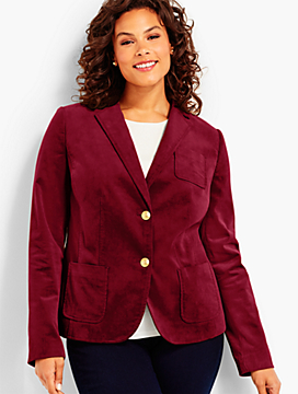 Cord School Boy Blazer