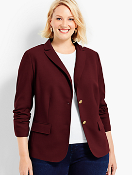 Wool Bi-Stretch Blazer